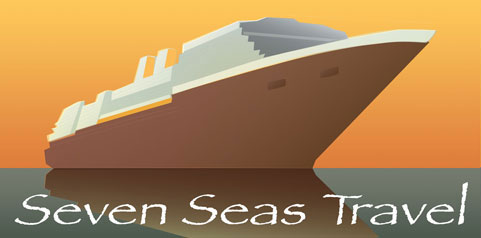 Seven Seas Travel Agency Logo