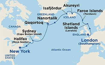 Map Of Canada Greenland And Iceland.Search Results Seven Seas Travel Agency